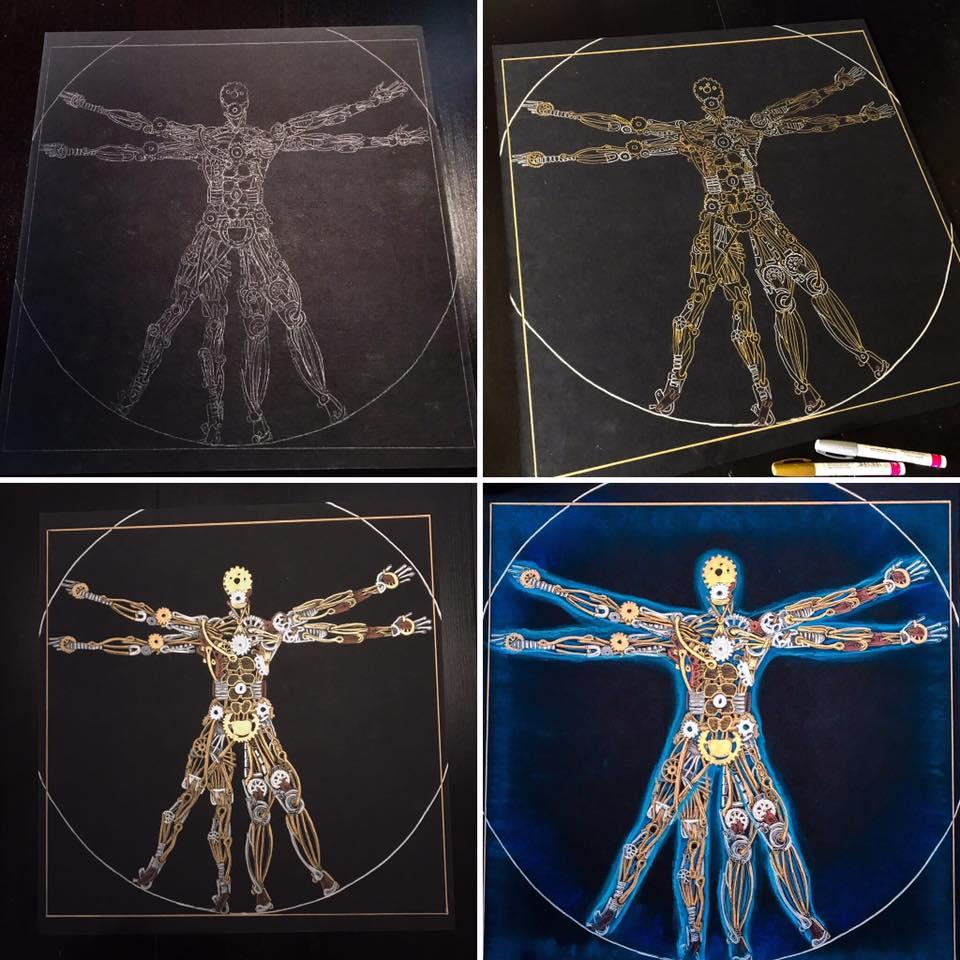 Vitruvian Machine