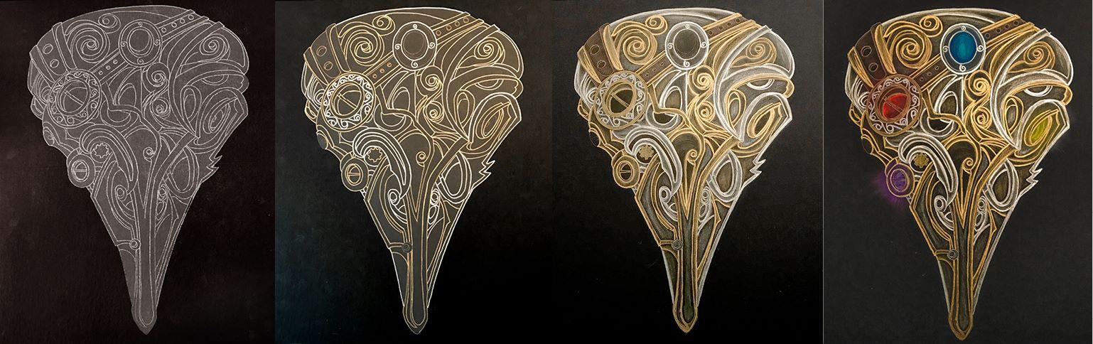Crow Infinity Mask