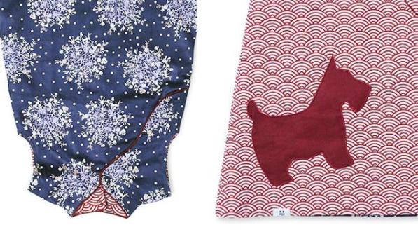 Reversible dress for girls