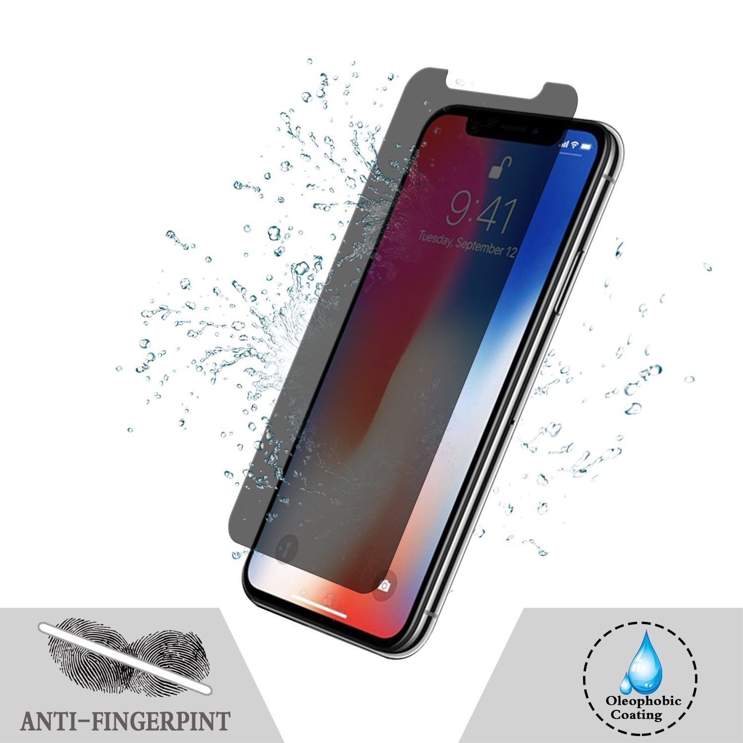 iPhone Privacy Screen Protector - iPhone X/XS/XMax/XR
