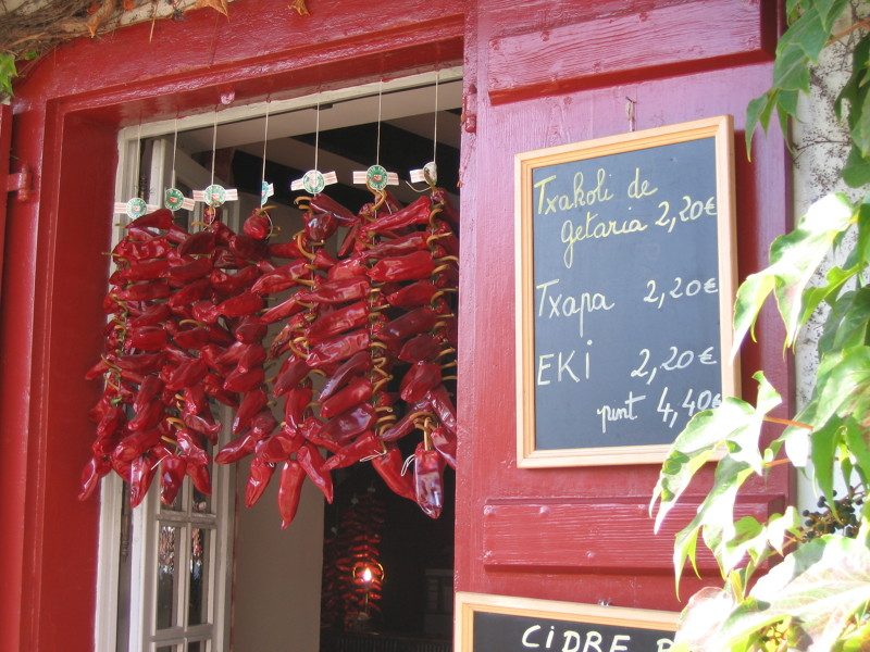 Espelette Chili Store - French Basque Country Food Tour