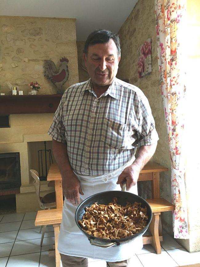 Ferme Auberge Restaurant Mushroom Dordogne Valley