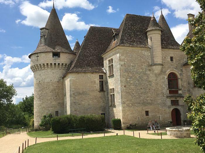 Historic Castle Dordogne Valley