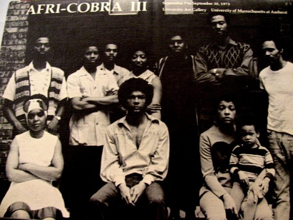 One of the earliest images of africobra via 1973.