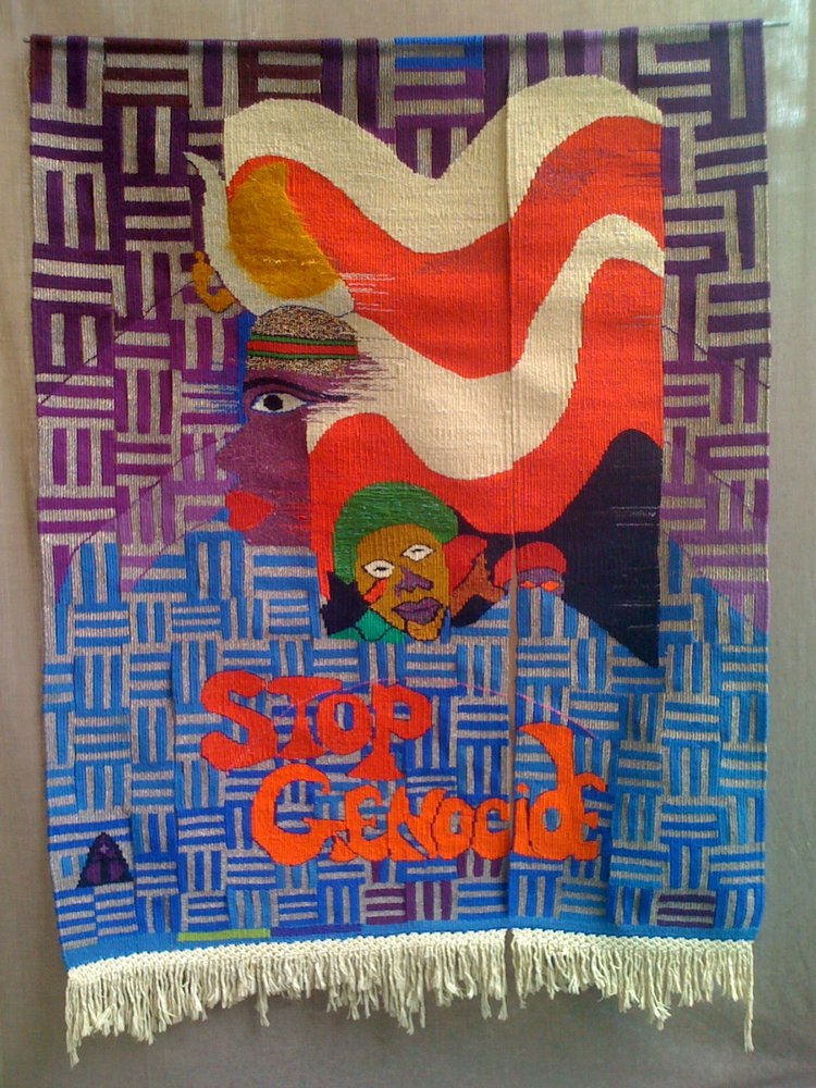 Napoleon Jones-Henderson-Stop+Genocide+tapestry-net.jpg