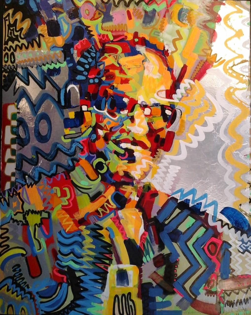 Frank Smith-Malcolm - 28 h x 22 w - Acrylic on foil board- 1973.jpg