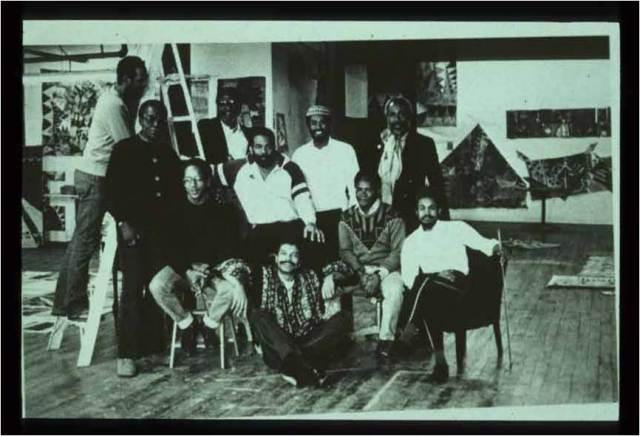 AfriCOBRA Faye Gold Gallery Atlanta -1987