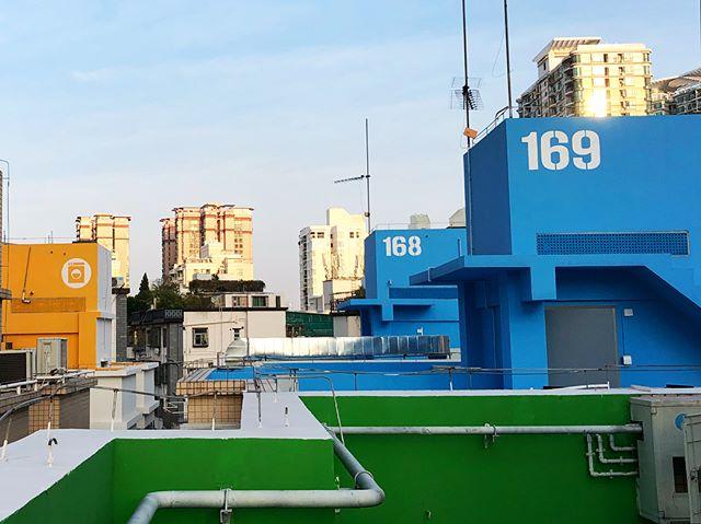 Secret Rooftop / Urban Utopia #urbanvillage #urbandensity #urbanutopia #narrativeenvironments #futian #shenzhen