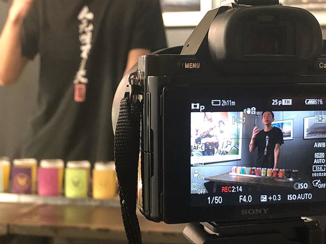 "Q: ""what is beer culture for you?"" A: ""It is the pursuit of better life!"" - 阿古 from Nbeer. Our interviews are still on going... #beerculture #interview #shenzhenstories #brewery #shenzhenculture"