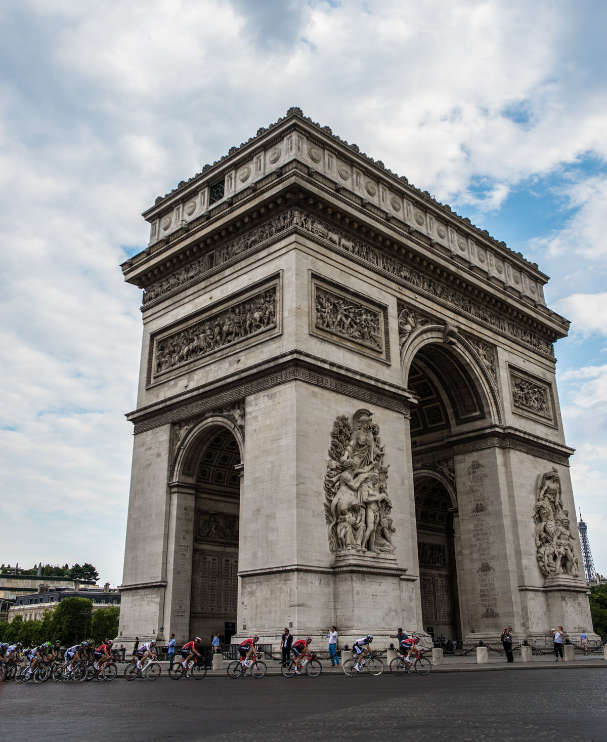 Arc de Triomphe Travel Photo Tour de France