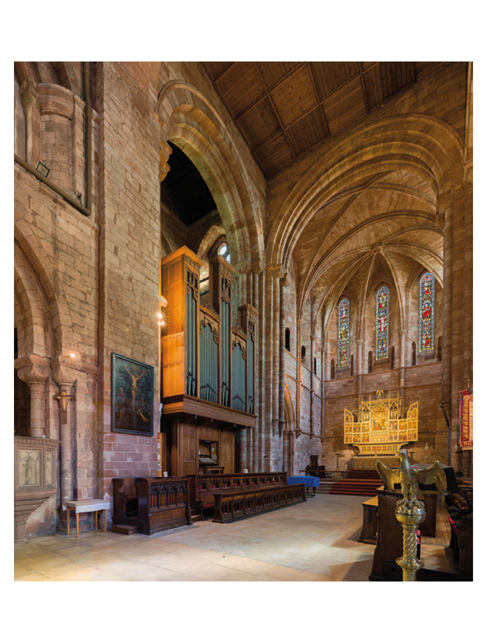 Church of St Andrew, Biggleswade Clean & Overhaul with tonal additions, summer 2018