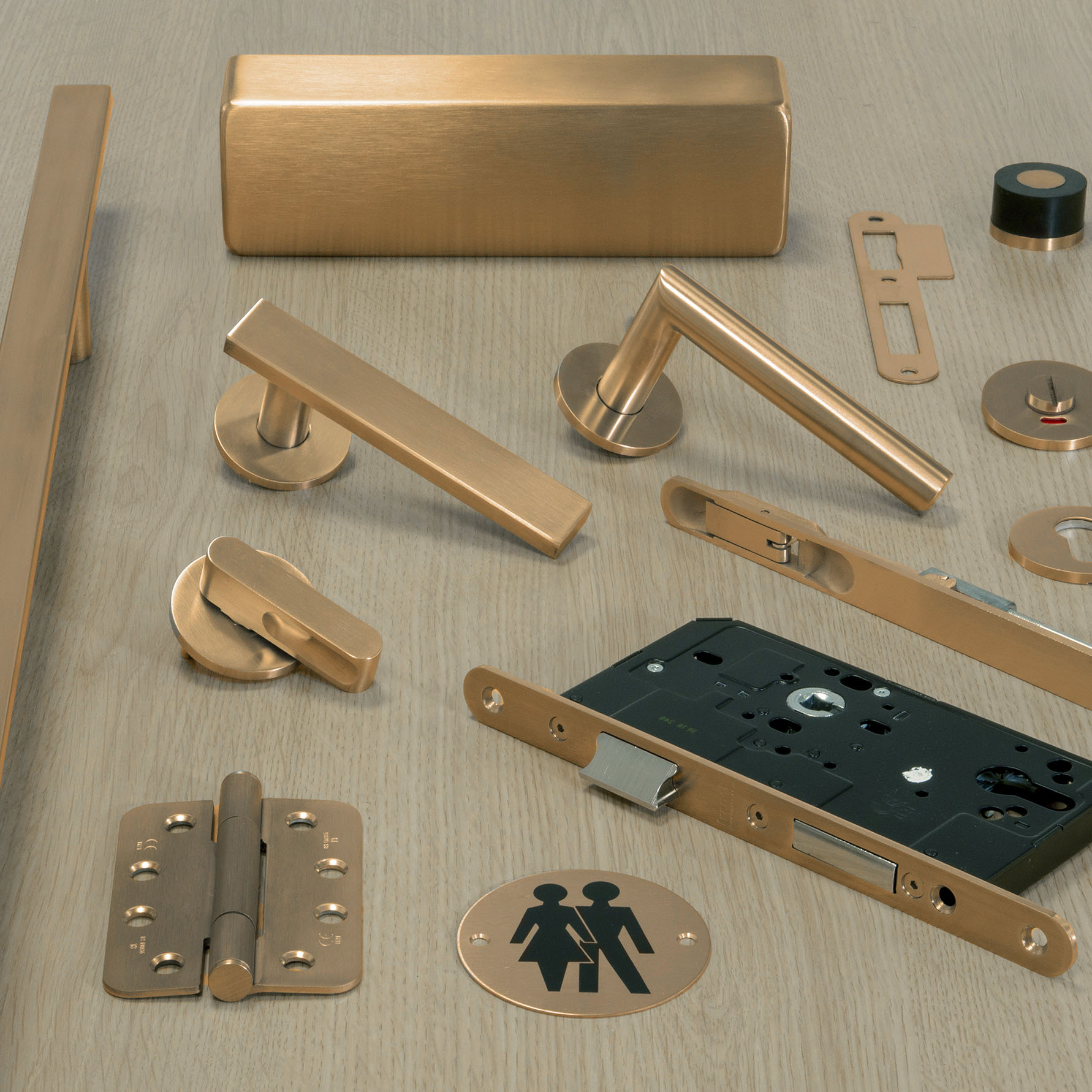 Fully Coordinated Ironmongery Packages -