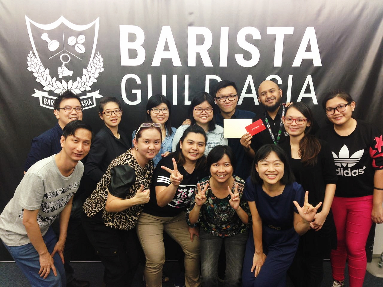 DEAF BARISTA WORKSHOP WITH DEAF BOLEH!  Working with people from different walks of life, communities and abilities to take up barista as a vocation is a very delightful experience. Especially when Deaf Boleh! is such a pleasure to work with!