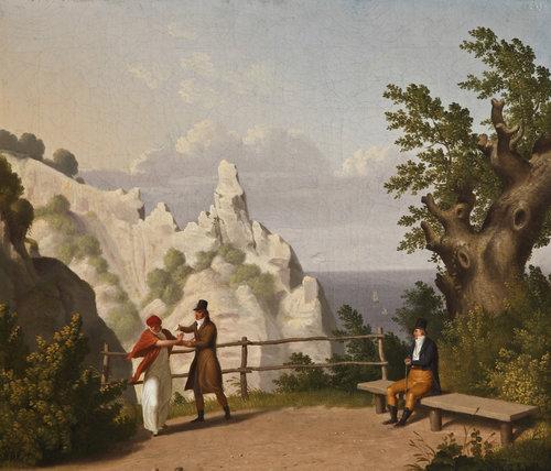 C.W.+Eckersberg,+Møns+Klint.+Udsigt+til+Sommerspiret,++1809.+Fuglsang+Kunstmuseum.+Foto+Ole+Akhøj_.jpg