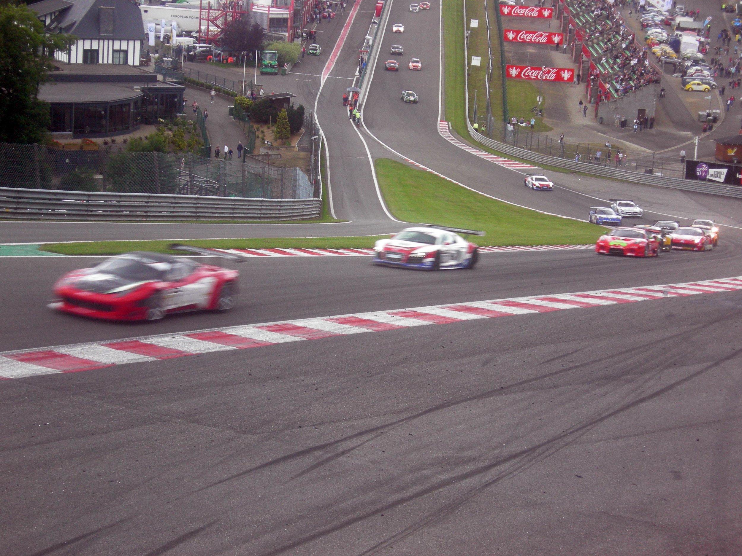 British GT. Eau Rouge. LOUD!