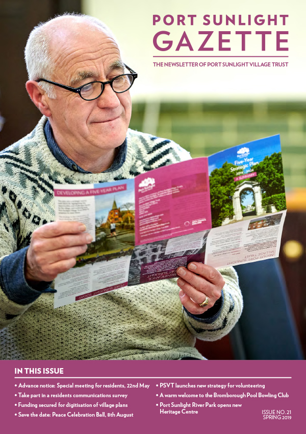 The Gazette for Port Sunlight Village trust