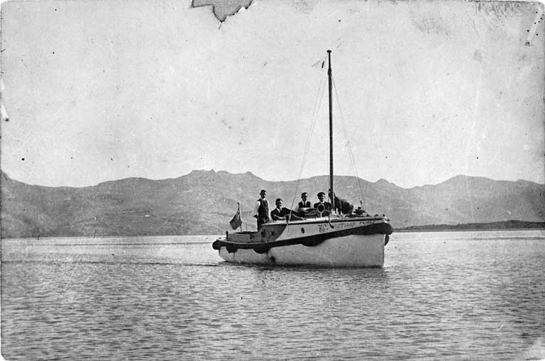 The Nautilus on the Avon-Heathcote Estuary in the 1920s.jpg