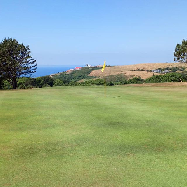 Beautiful day here @aberystwythgolf for the @midwalescga teams of three. Tag us in your photos. #shegolfs