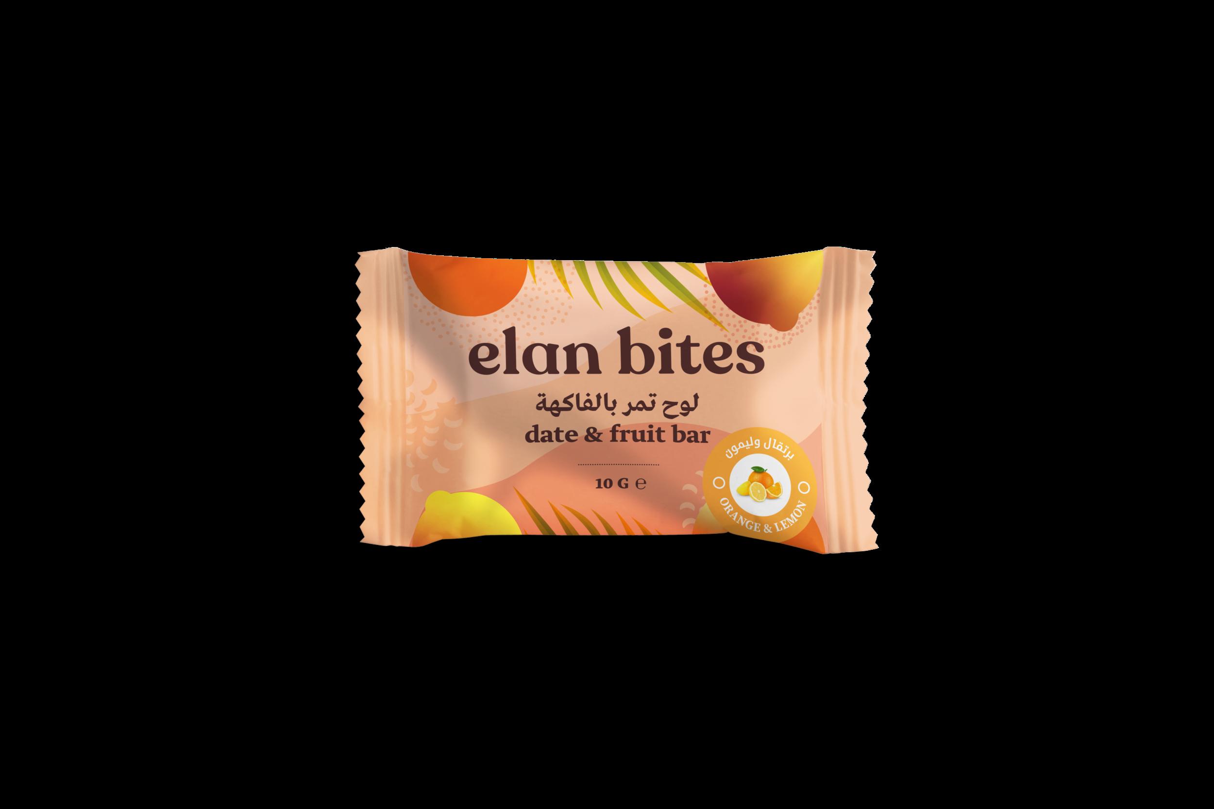 Elan Bites orange & lemon 10g Bar Mock Up .png