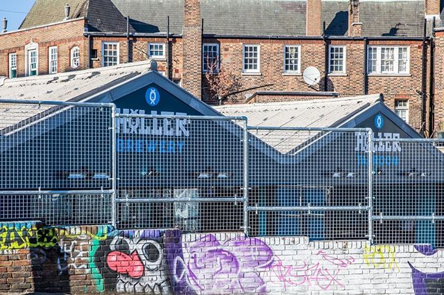 Brewing and serving beer in central Brighton since September 2018 #hollerbrewery #hollertaproom #lovewhatwedo #urbanregeneration #daytimeview #whenthesunshines