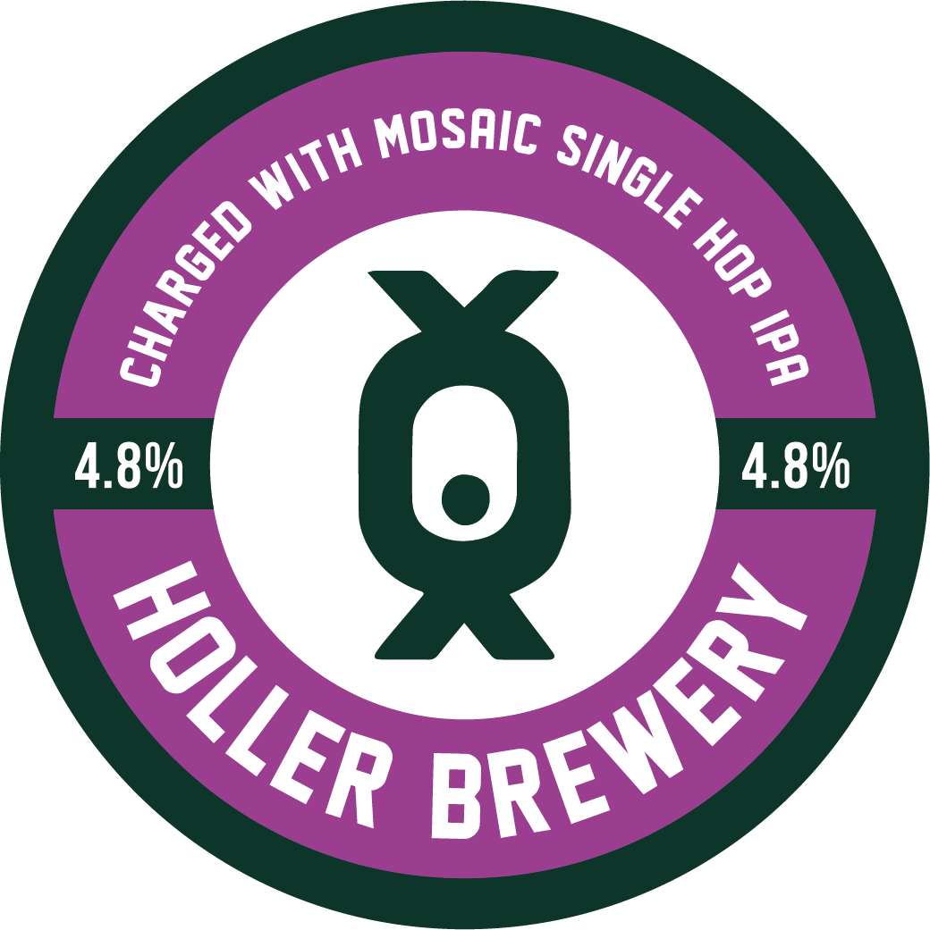 - CHARGED WITH MOSAICSINGLE HOP IPA 4.8%The first in our single hop series. A super hazy IPA with Mosaic as the star giving this beer bright citrus and pine notes.. . .Malts: Extra Pale Malt, Vienna Malt, Rolled Oats, Malted Oats, Flaked Wheat, Wheat MaltHops (boil): MosaicHops (dry): Mosaic. . .keg