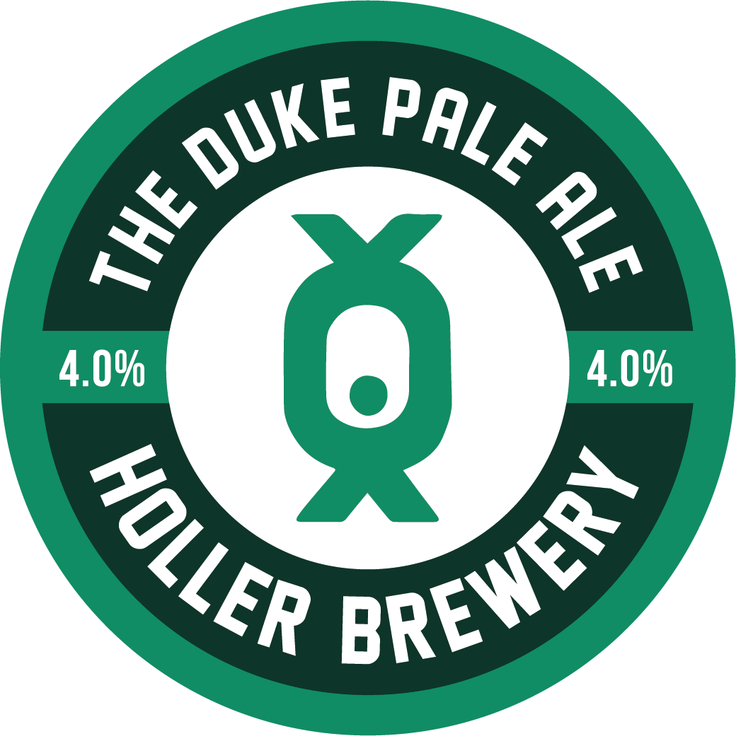 - THE DUKE PALE ALE 4%Straw coloured and hazy with shallow white foam and scant lacing. Rich fruity hoppiness in aroma. Rich and intense tropical fruits in-mouth with peach , apricot and zesty citrus.. . .Malts: Extra Pale Malt, Vienna Malt, Jumbo Oats, Malted Oats, Flaked Wheat, Flaked BarleyHops (boil): Nelson Sauvin, Jester, PioneerHops (dry): Mosaic, Simcoe, Calypso, Nelson Sauvin. . .330ml can