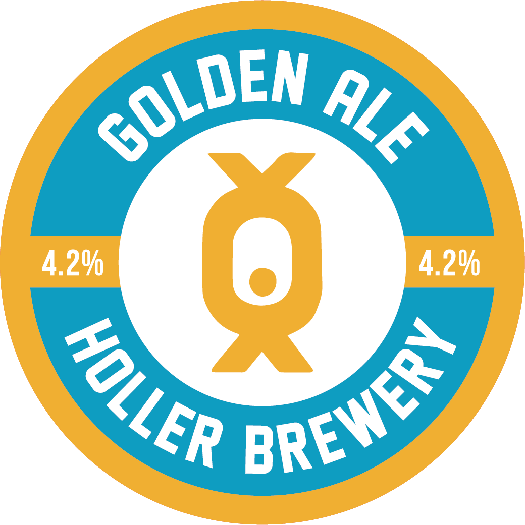 - GOLDEN ALE 4.2%A mellow ale with malt forward notes, giving a slight biscuity taste and a classic British hop flavour.. . .Malts: 50/50, Extra Pale, Crystal 100, Munich, Wheat MaltHops (boil): Cascade, Jester, Pioneer. . .cask