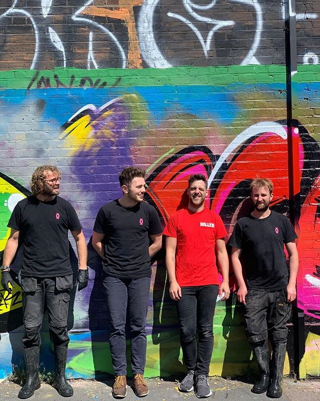 Brewery #teamtastic these are the boys who brew our beer and the ones that make sure it gets to our pub and bar customers Eric, Ed, Aaron & Gary.  Top bunch ❤️🍻❤️ #beermakesfriends #teamworkmakesthedreamwork