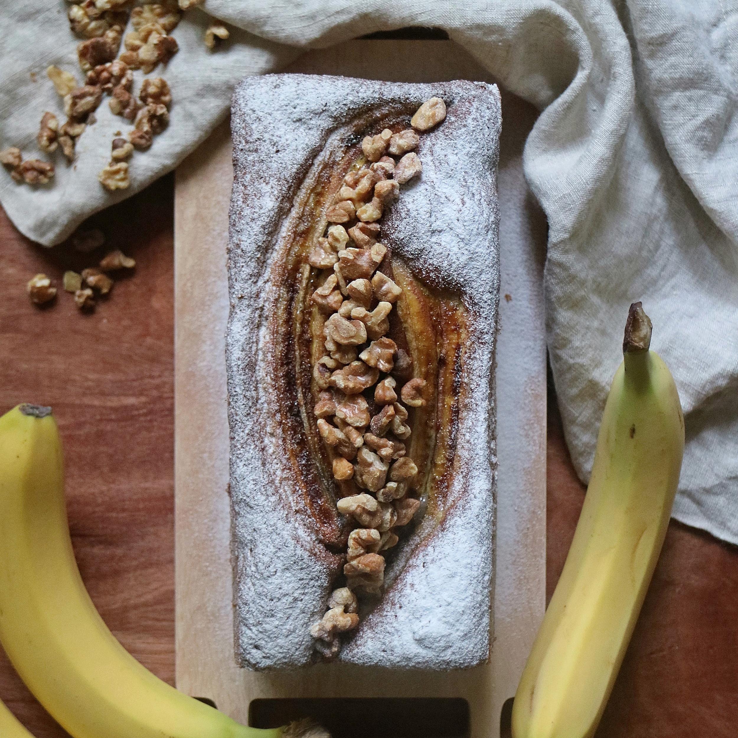Banana Walnut Loaf
