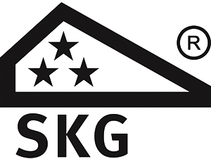 - * Our products are always SKG** certified at least