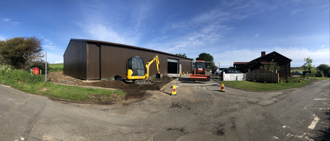 New shed coming on great, some machines have been brought up from the farm, our new facility won't be fully functional until the middle of July. Great steps only 13 weeks on from the fire.