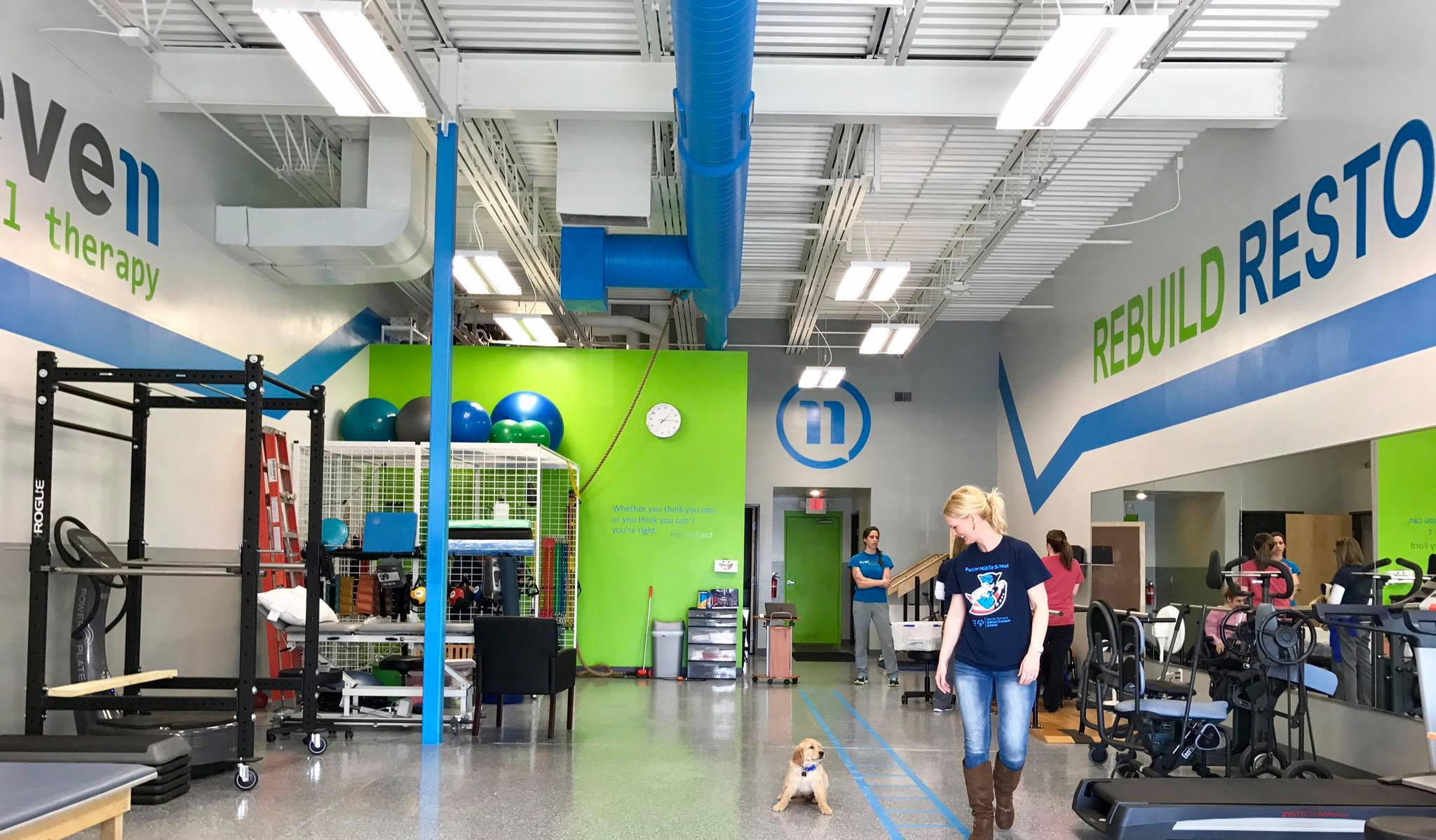 Level Eleven Howell, MI - Located on M-59 (W.Highland), Level Eleven Howell provides easy access to world-class therapy for patients from Lansing to Ann Arbor and everywhere in between.Stop in and ask for our Senior Physical Therapist, Dr. Nick Monday, DPT.(517) 546-9000