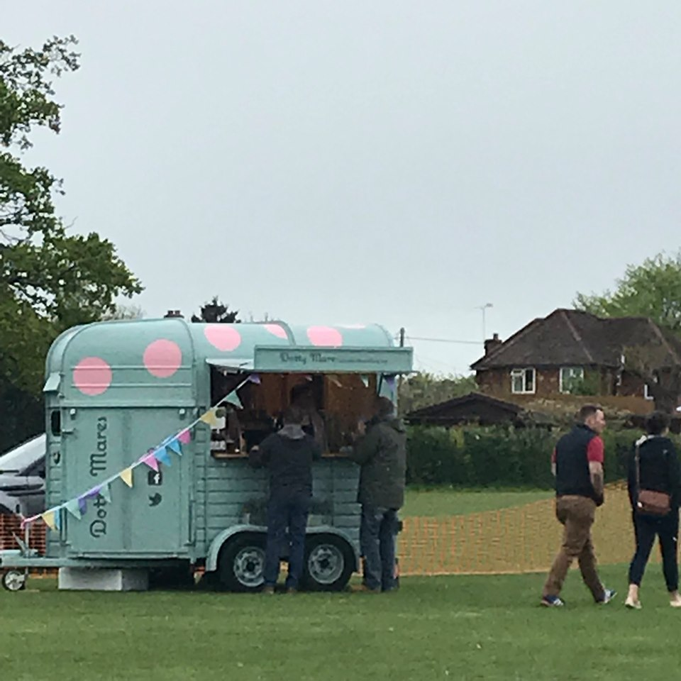 """""""The team were extremely friendly and helpful"""" - Dotty Mares recently attended our school charity event and even in stormy weather the team were extremely friendly and helpful. We really enjoyed their quality drinks and company during the day. Many thanks to the Dotty Mares from the HGSS Music Events Team!Katie27/04/19"""