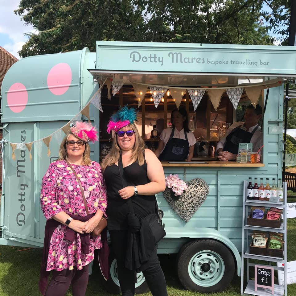 """"""" Repeat Offenders """" - We loved being #repeatoffenders and try to 'offend' as often as we can 😆Fabulous drinks, you guys are lovely and choosing a straw was just so exciting. I hope Lynne and I see Dotty again soonChildwickbury Arts Fair5-6-7/07/19"""