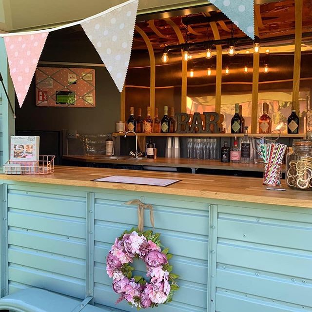 Who else hates the rain ☔️ the good thing is in Dotty it's cozy and has a beautiful warm glow....we even have a gazebo for inclement weather so your guests can stay dry.... #dottymares #hireus #privatebar #travellingbar #proseccobar #ginbar