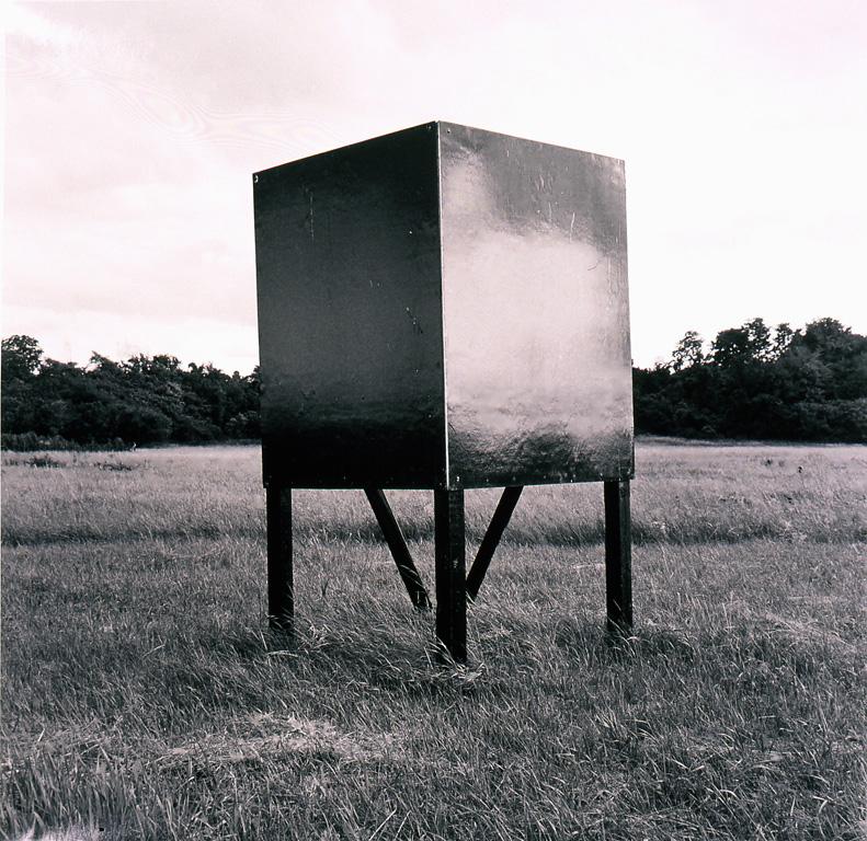 "Black Box,  2004, 44"" x 44"""