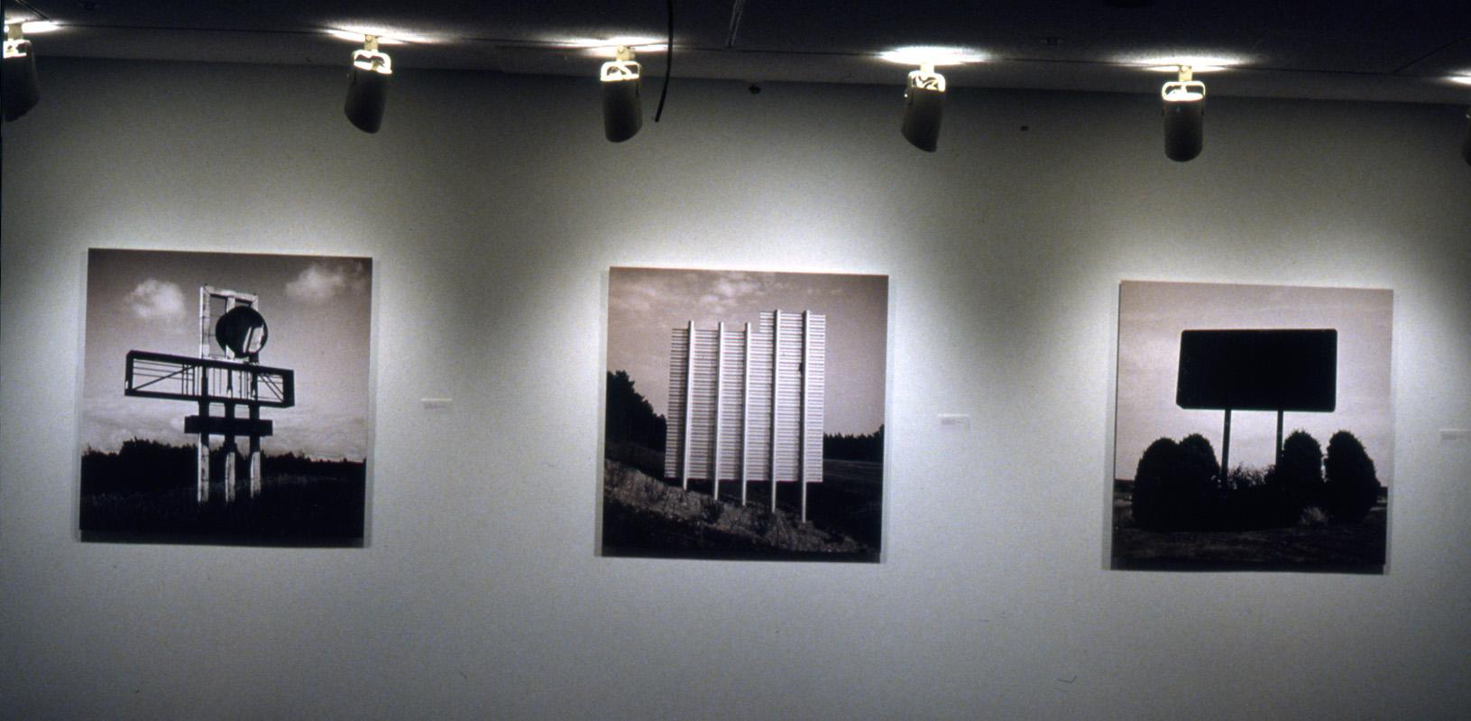 Installation Shot, 2004, Sign Series