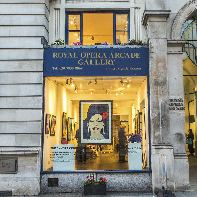 Summer Exhibition | Royal Opera Arcade Gallery | London