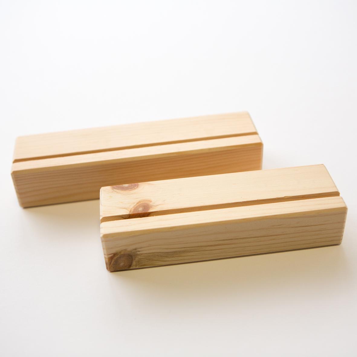 無料プレゼント! - ファインアートプリントパックを買うと木のスタンドは無料プレゼントになります!※一個は無料になります。※別売りで一個¥1,500になります。