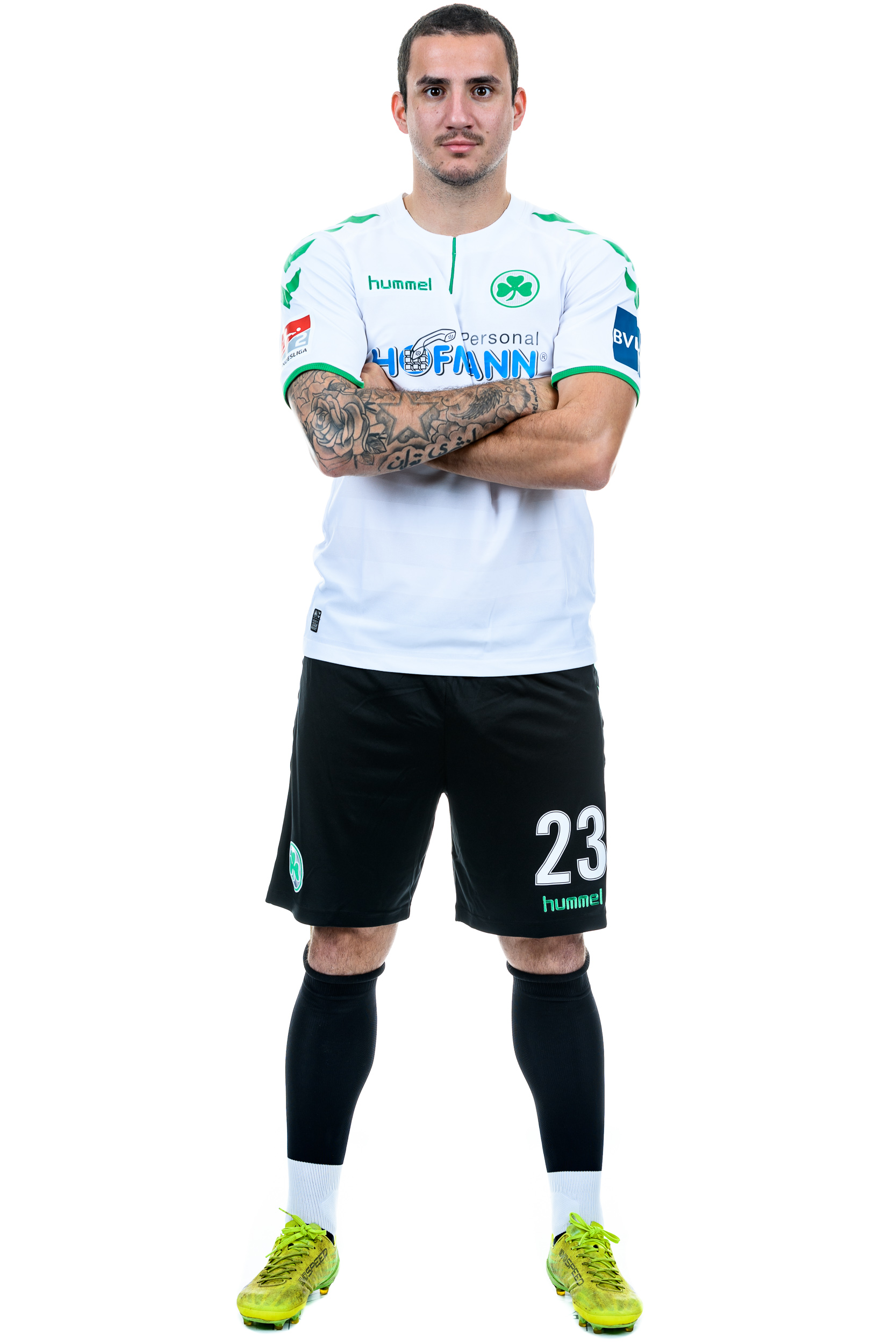 Copy of SpVgg Greuther Fuerth - Team Presentation for DFL