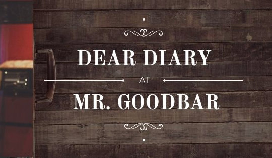 "4.16.19 - ""Dear Diary"" Reading  I revealed decades old secrets and read excerpts from my 2nd grade journal at the    Dear Diary    event @ Mr. Goodbar  (Watch the full performance   here!   )"