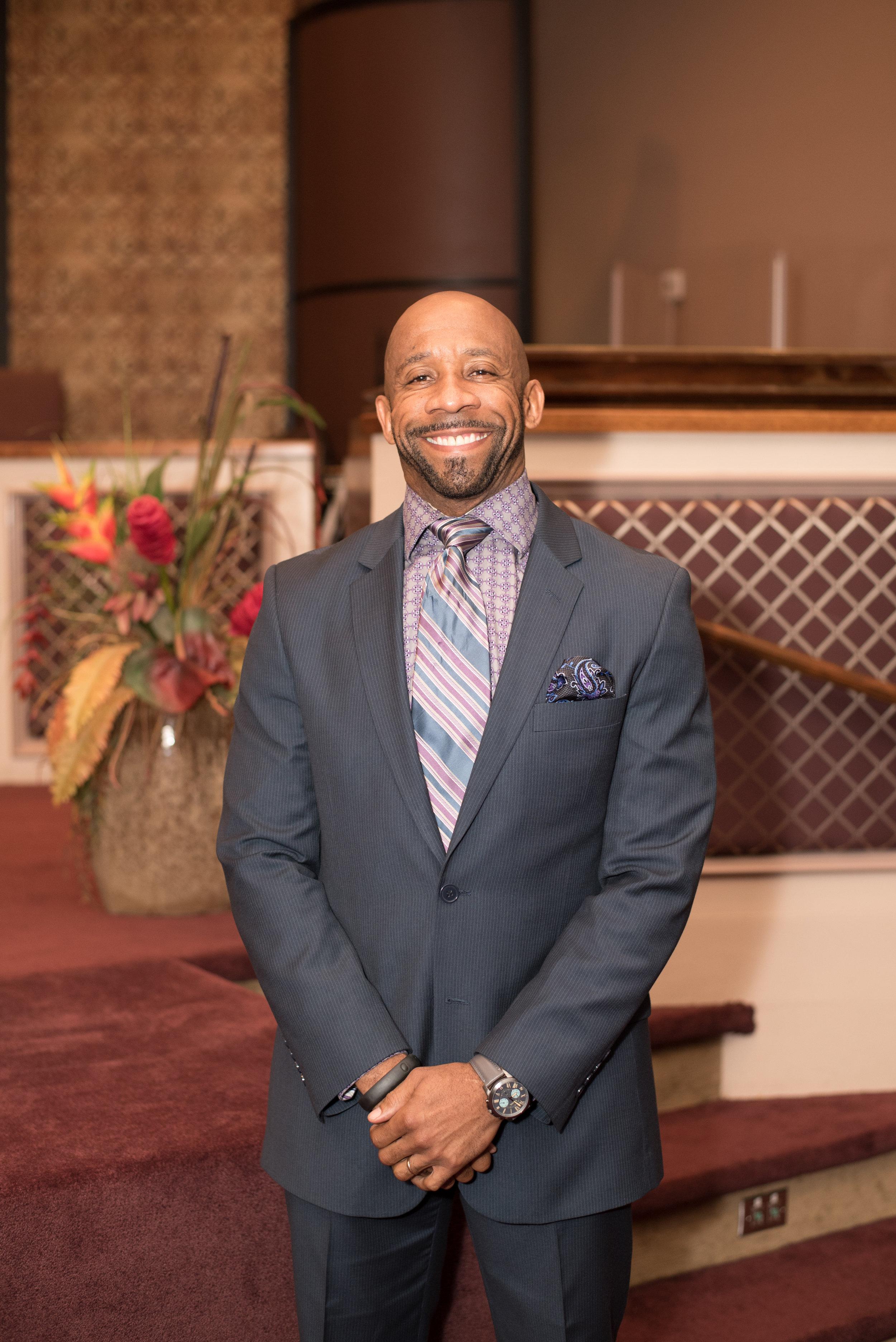 Pastor Kennis Sewell, Executive Adjutant to Bishop Malone