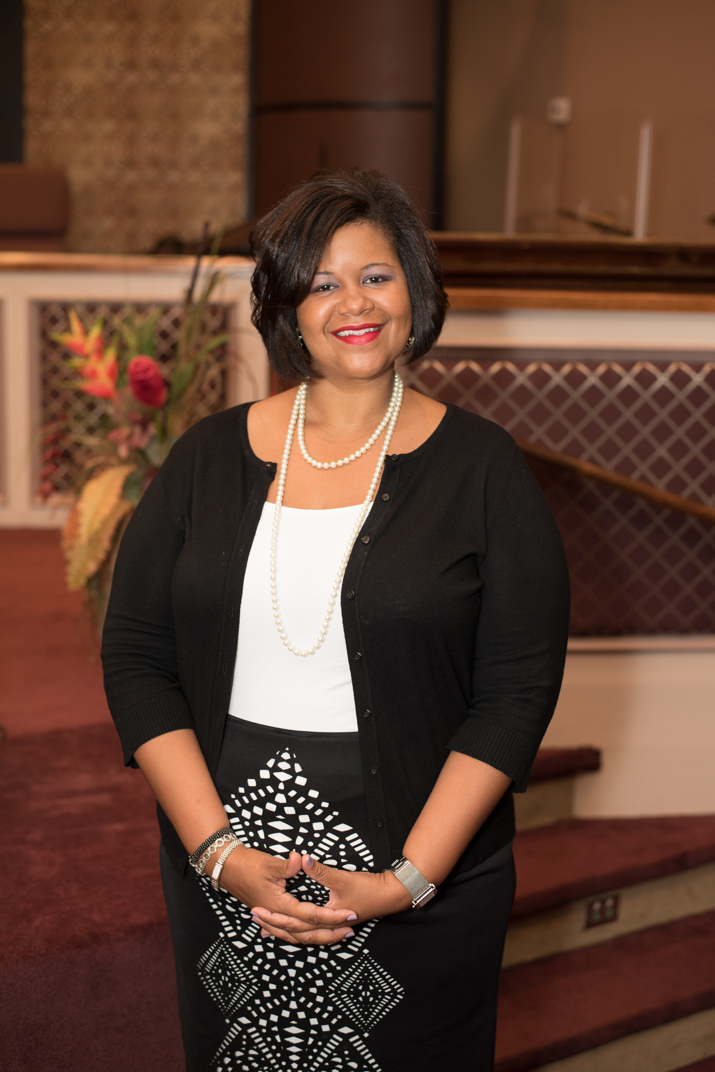 Pastor Mary Mitchell, NuYouth & College Students