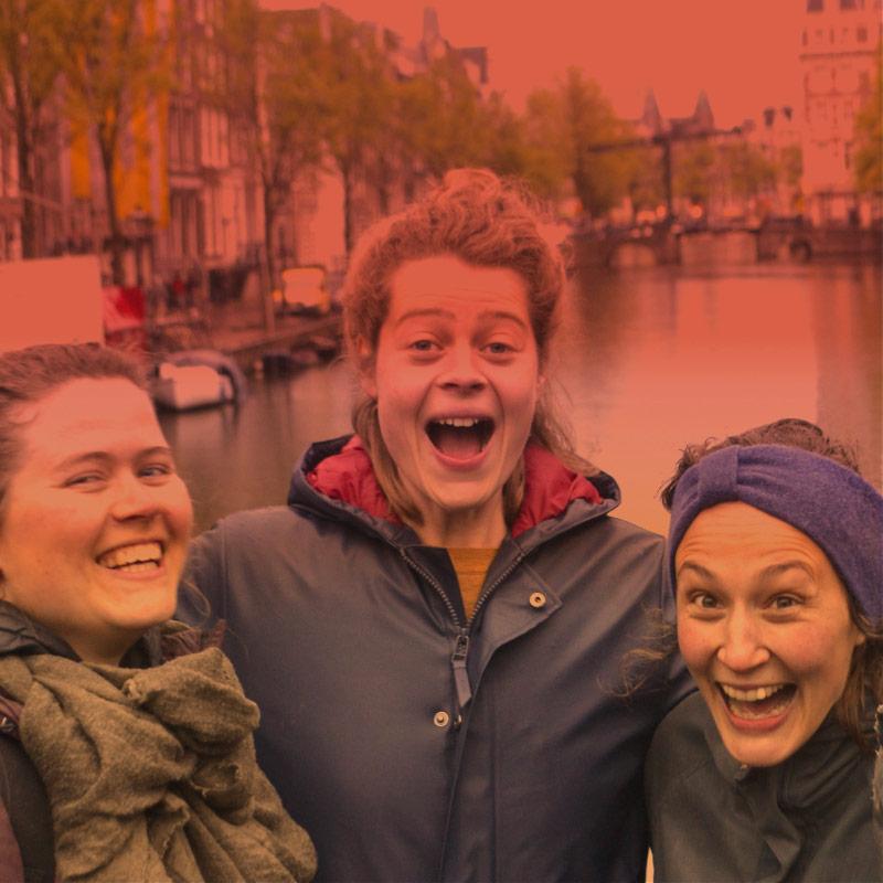 Stadsgroenteboer: Julia Crijnen, Laura Wüthrich e Lisa Fellmann