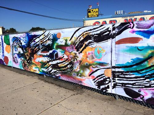 """DOT Mural """"Swish-Swash"""""""