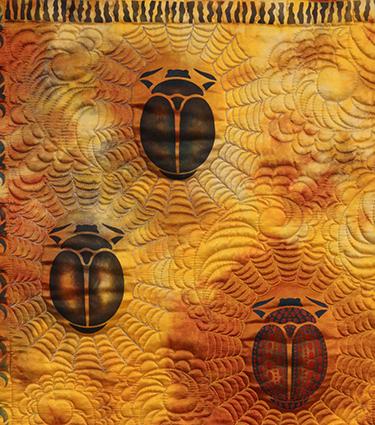 """""""Beetles in Space"""" (detail)"""