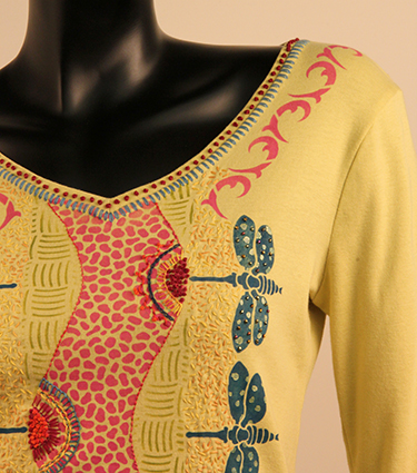 Yellow Shirt (detail)