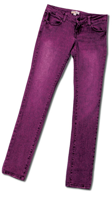 Jeans dyed with iDye for Natural Fabrics
