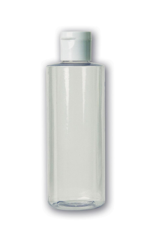 4 oz Clear Bottle#(plastic w/flip cap)#Item ACC2113