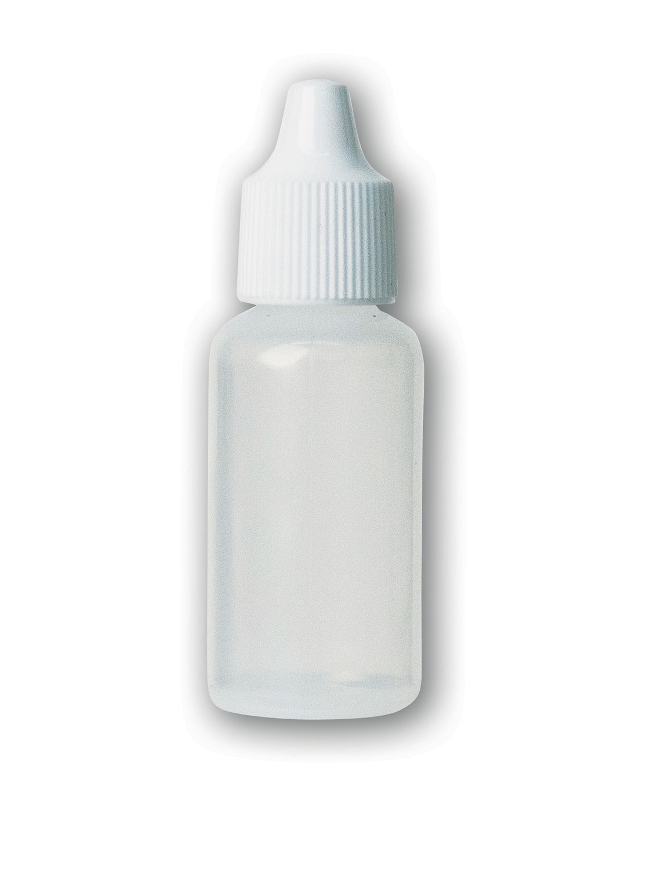1/2 oz Translucent#Squeezable Dropper Bottle#(plastic w/cap)#Item ACC1791